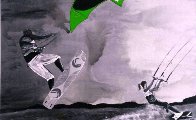 2013 – Kitesurfing
