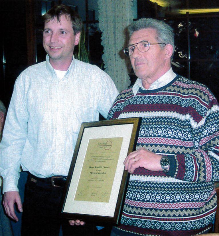 Wolfgang Bastian und Benedikt Cavada